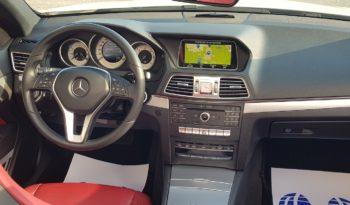 "Mercedes Classe E220 d Cabrio Sport ""FULL FULL OPTIONAL"" EURO6B completo"